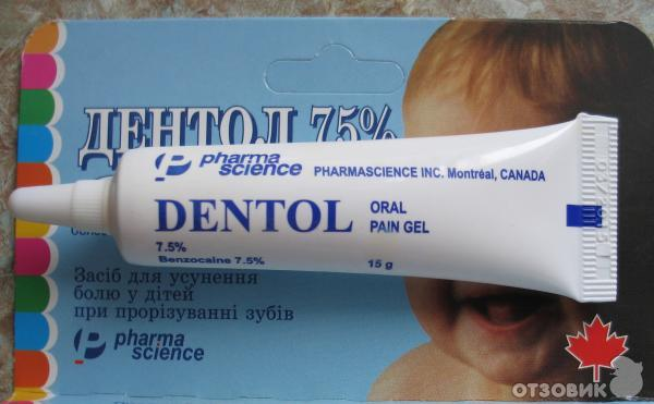 Список гелей для десен при прорезывании зубов