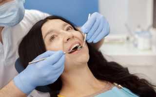 Шатается передний зуб