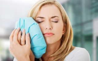 Как снять опухоль щеки от зуба