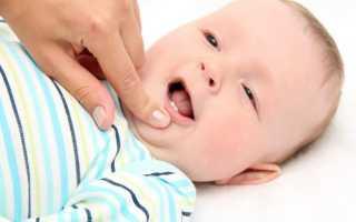 Для зубов младенца гель или мазь