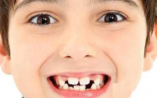 Прорезывание зубов в 2 года